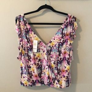 Bebe sleeveless top